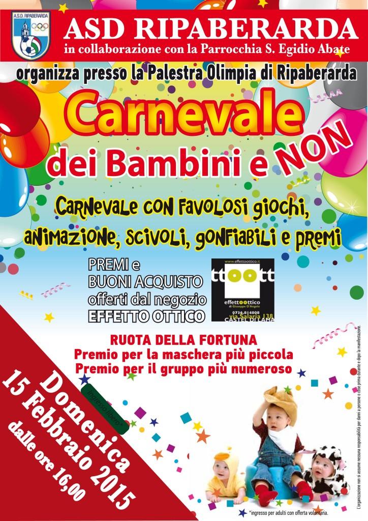 Carnevale bimbi2015
