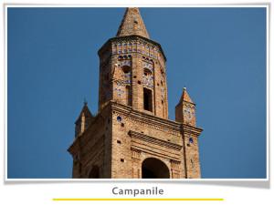 particolare del campanile ripaberarda