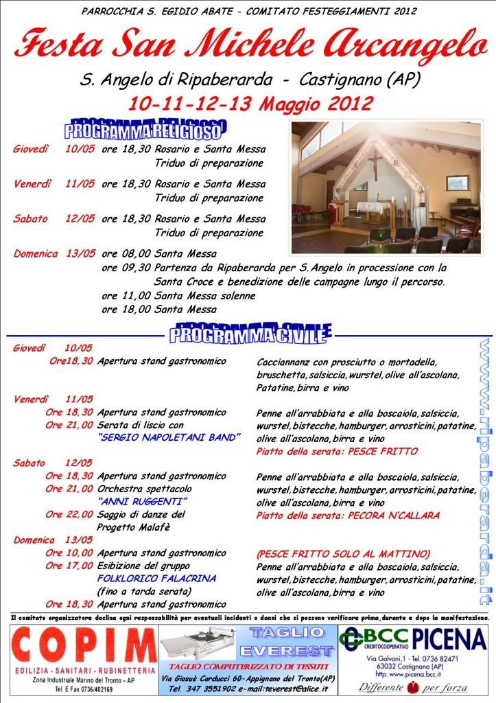 PROGRAMMA S. ANGELO_2012-manifesto
