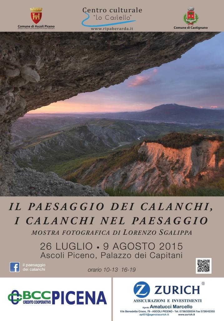 mostra fotografica calanchi di lorenzo sgalippa 2015