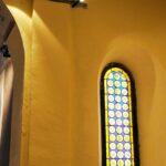 Vetrate cripta chiesa Santa Maria Ripaberarda