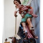 Foto statua San Michele Arcangelo