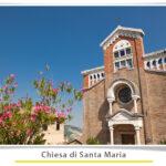 Foto facciata frontale chiesa Santa Maria Ripaberarda